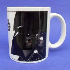 Caneca Guerra nas Estrelas (em cerâmica) Star Wars Darth Vader