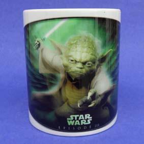 Caneca Guerra nas Estrelas (em cerâmica) Star Wars Mestre Yoda