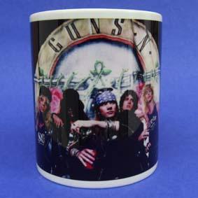 Caneca Guns N Roses ( em cerâmica ) Axl Rose