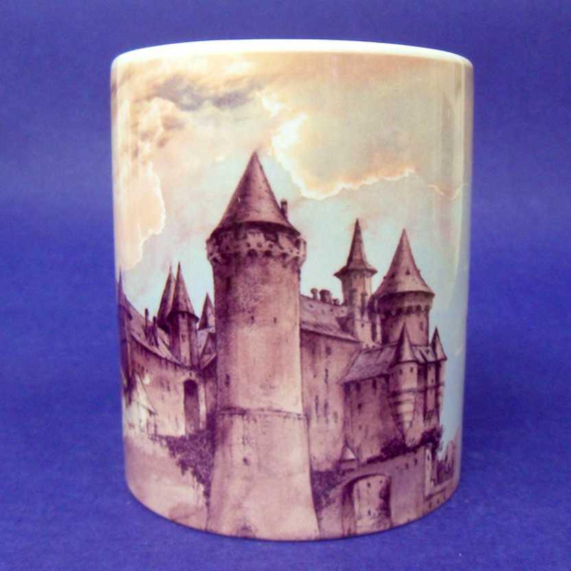 Caneca Harry Potter - Hogwarts Castle ( pode ir ao microondas )