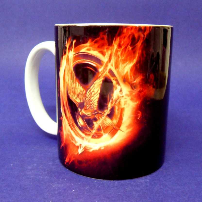 Caneca Jogos Vorazes - The Hunger Games ( pode ir ao microondas )