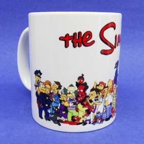 Caneca Os Simpsons (em cerâmica) Toda a Turma