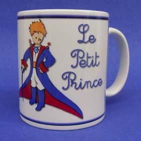 Caneca Pequeno Príncipe ( em cerâmica ) Le Petit Prince