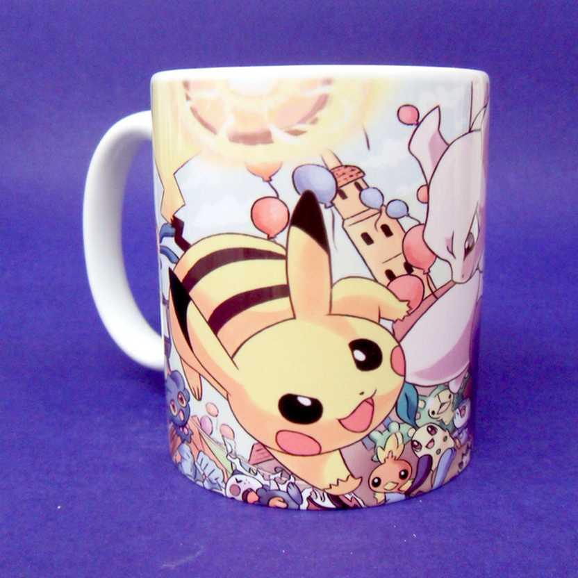 Caneca Pokémon - Pikachu vs. Mewtwo