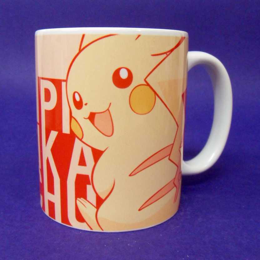 Caneca Pokemon - Pikachu ( pode ir ao microondas )