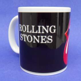 Caneca Rolling Stones (em cerâmica)
