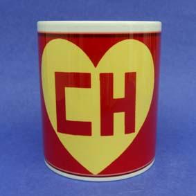 Caneca Símbolo Chapolin Colorado (em cerâmica)