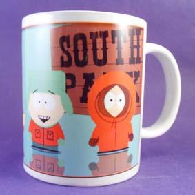 Caneca South Park (Stan Marsh, Eric Cartman, Kyle Broflovski e Kenny McCormick)