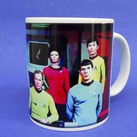 Caneca Star Trek ( em cerâmica ) The Original Series