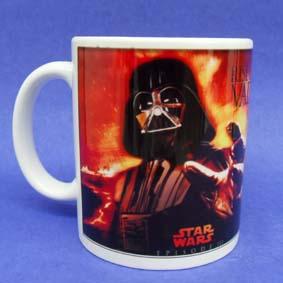Caneca Star Wars (em cerâmica) Guerra nas Estrelas Darth Vader