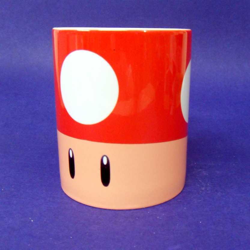 Caneca Super Mario Bros. - Toad ( pode ir ao microondas )