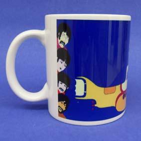Caneca The Beatles ( em cerâmica ) Yellow Submarine