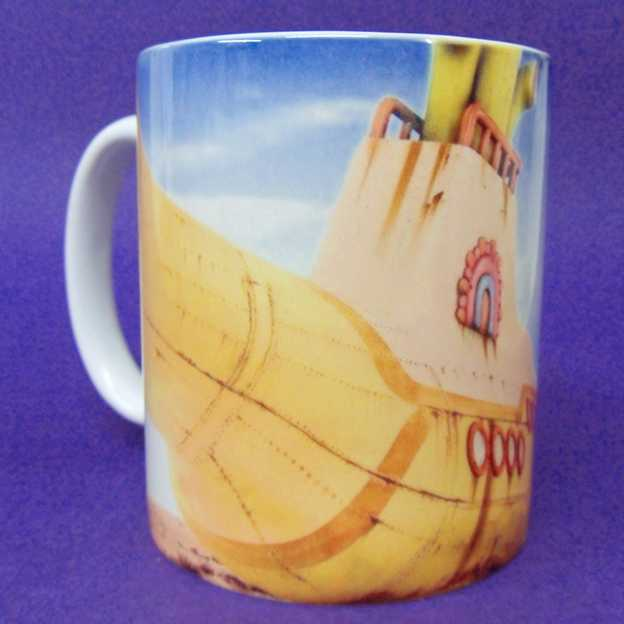 Caneca The Beatles - Yellow Submarine ( pode ir ao microondas )