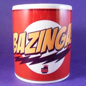 Caneca The Big Band Theory Bazinga ! (em cerâmica)