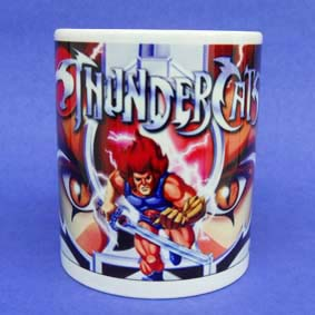 Caneca Thundercats (em cerâmica ) Olho de Thundera
