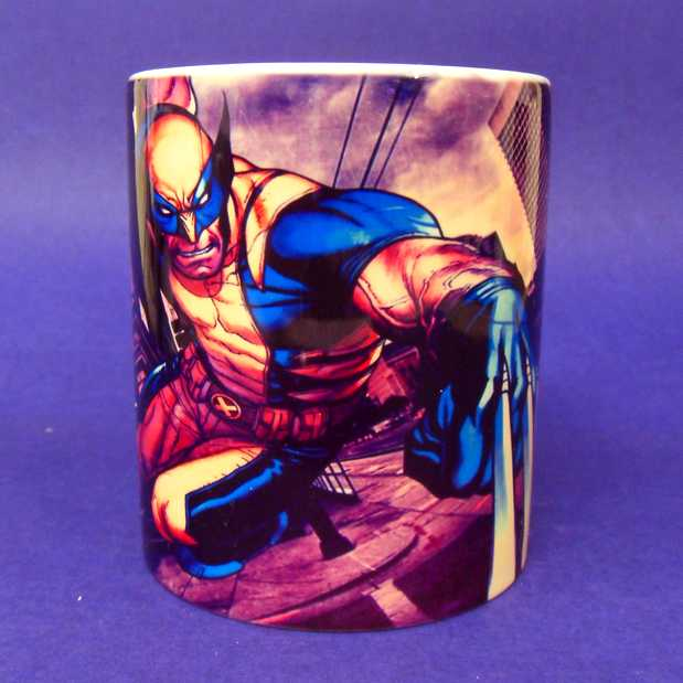 Caneca X-Men Wolverine ( pode ir ao microondas )