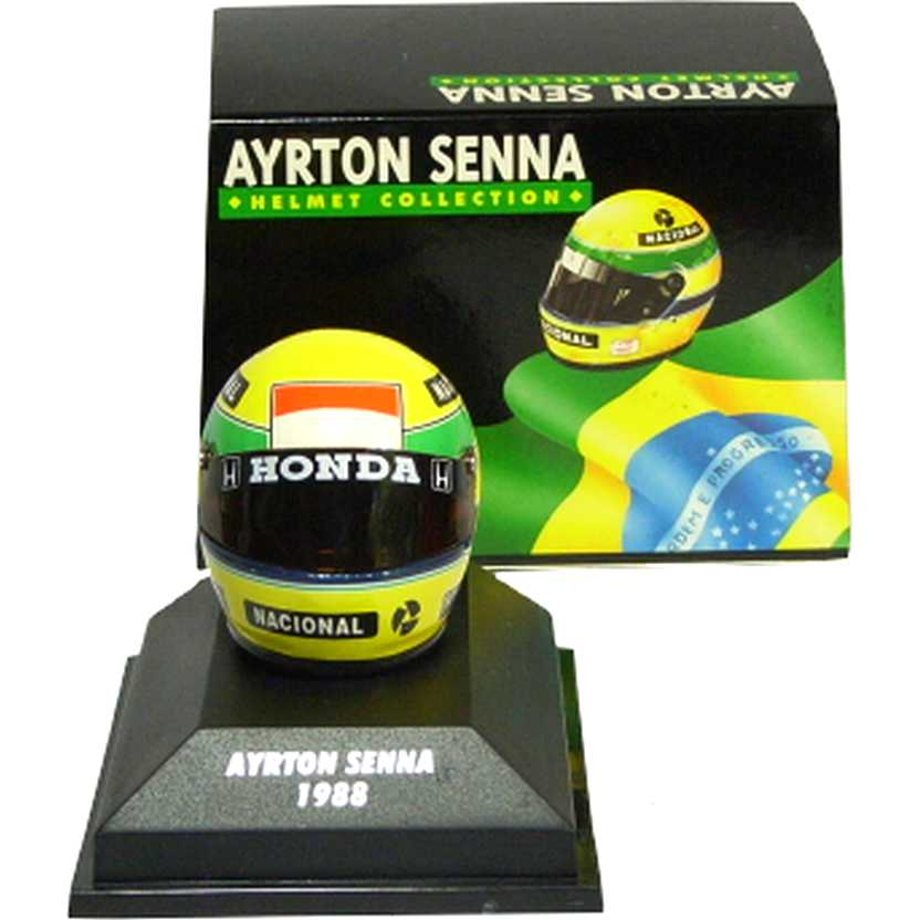 Capacete Ayrton Senna Bell (1988) McLaren MP4/4 F1 World Champion Helmet