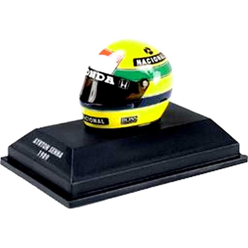 Capacete Ayrton Senna BELL (1989)