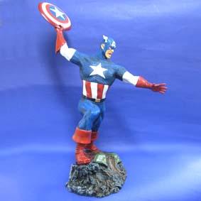 Capitão América na batalha