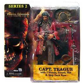 Capt. Teague - Piratas do Caribe (series 2)