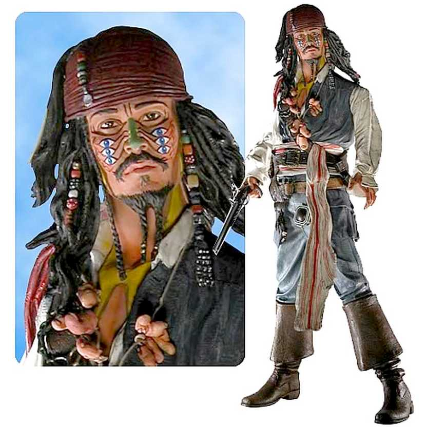 Captain Jack Sparrow Cannibal - Dead Man Chest (c/ som) Johnny Depp