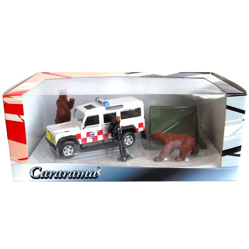 Cararama Diorama escala 1/43 - Land Rover Defender 110