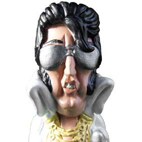 caricatura do Elvis Presley
