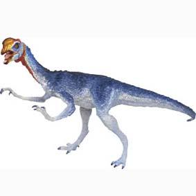 Carnegie Oviraptor pintado a mão