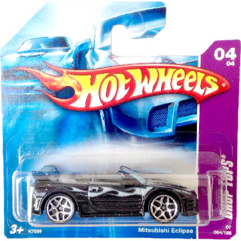 Carrinho 2007 Hot Wheels Mitsubishi Eclipse series 04/04 084/156 K7599 escala 1/64