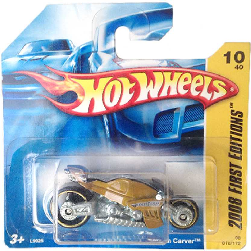 Carrinho 2008 Hot Wheels Moto Canyon Carver series 10/40 010/172 L9925 escala 1/64