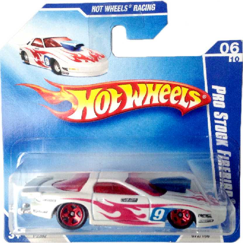 Carrinho 2009 Hot Wheels Pro Stock Firebird series 06/10 072/166 P2392 escala 1/64