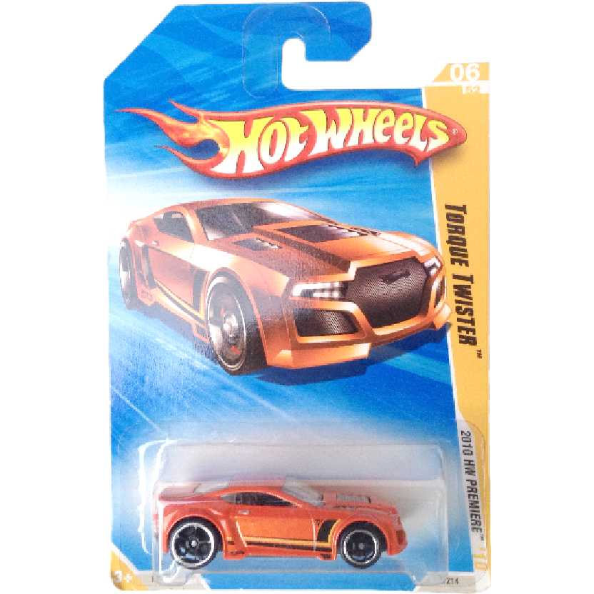 Carrinho 2010 Hot Wheels Torque Twister series 06/52 006/214 R0921 escala 1/64