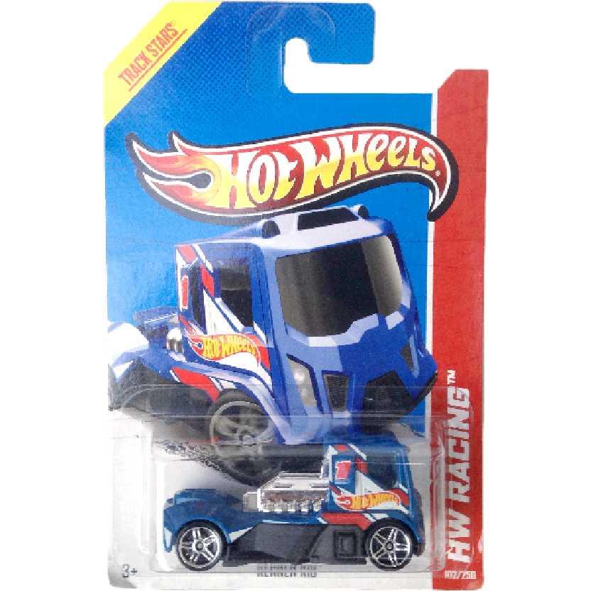 Carrinho 2013 Hot Wheels caminhão Rennen Rig series 102/250 X1740 escala 1/64