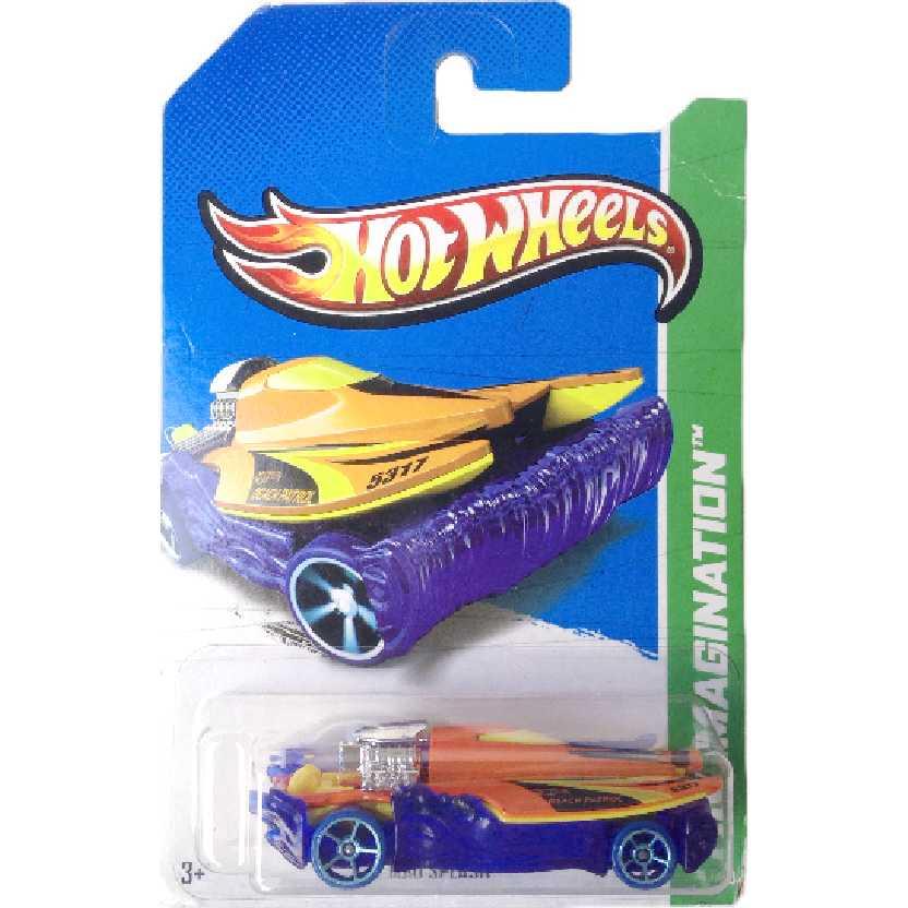 Carrinho 2013 Hot Wheels Mad Splash series 73/250 X1902 escala 1/64