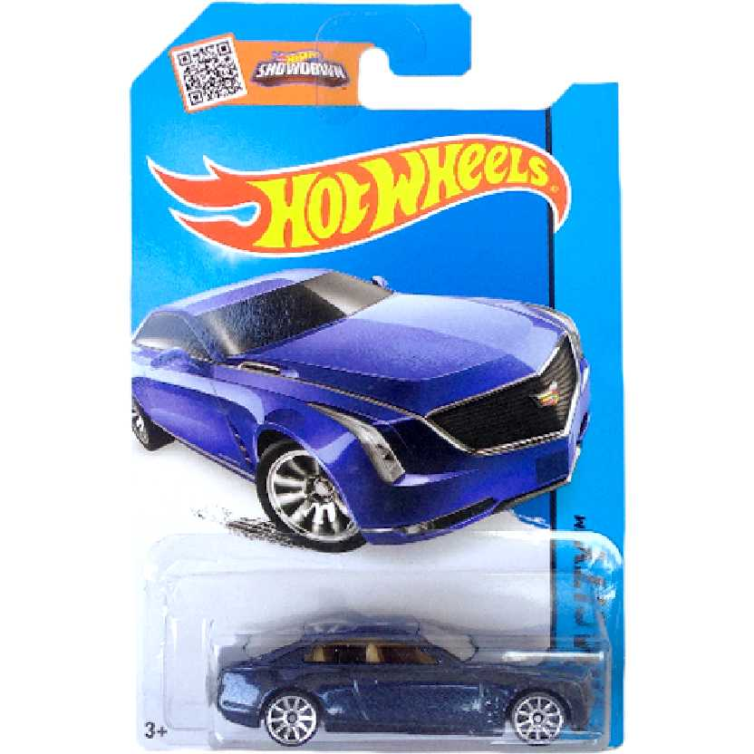 Carrinho 2015 Hot Wheels Cadillac Elmiraj series 25/250 CFH11 escala 1/64