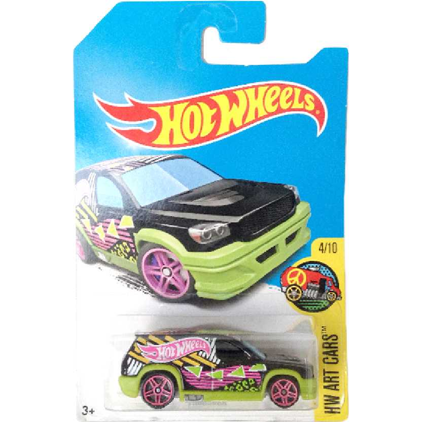 Carrinho 2017 Hot Wheels T-Hunt Fandango series 4/10 DVD03 escala 1/64