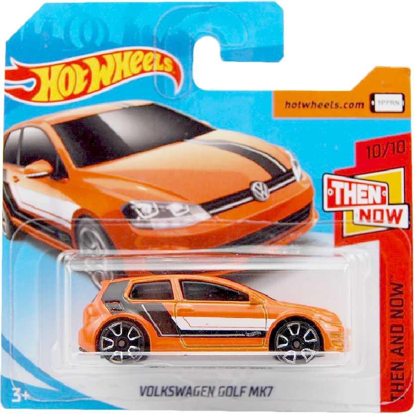 Carrinho 2018 Hot Wheels Volkswagen Golf MK7 10/10 21/365 FJX96 escala 1/64