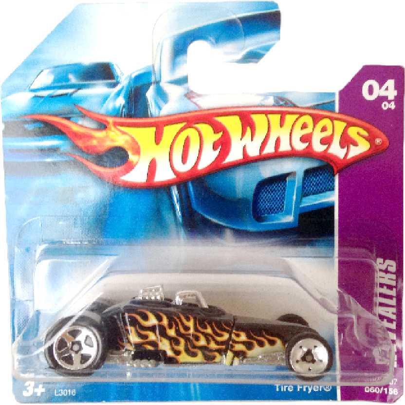 Carrinho da coleção 2007 Hot Wheels Tire Fryer series 04/04 060/156 L3016 escala 1/64