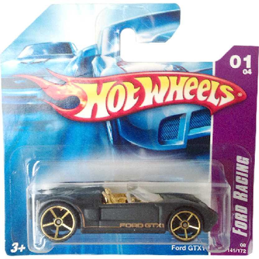 Carrinho da coleção 2008 Hot Wheels Ford GTX1 series 01/04 141/172 M6875 escala 1/64