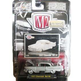 Carrinho de Coleção Chevrolet Bel Air (1957) M2 Machines série 4A R04A 31500