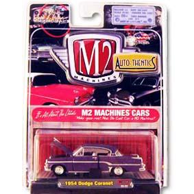 Carrinho de Coleção M2 Machines 1/64 Dodge Coronet (1954) série 5B R5B 31500