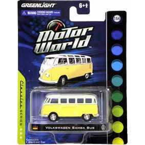Carrinho em Miniatura da Greenlight VW Kombi Samba Bus R3 96030