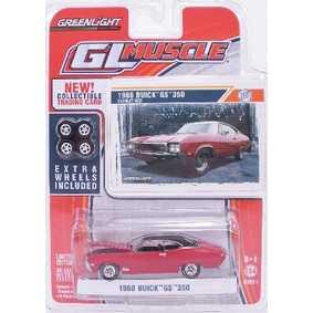 Carrinho escala 1/64 Greenlight Buick GS 350 (1968) R1 13010