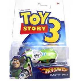 Carrinho Hot Wheels 1/64 Blastin Buzz P4829/0910 ( Miniatura filme Toy Story 3 )