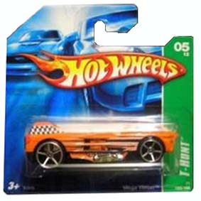 Carrinho Hot Wheels 2007 T-Hunt: #05 Mega Thrust series 125 K7616