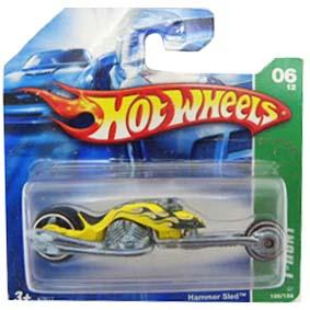 Carrinho Hot Wheels 2007 T-Hunt: #06 Hammer Sled series 126 K7617