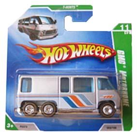 Carrinho Hot Wheels 2009 GMC Motorhome Super T-HuntS Mais Raros 053 P2373