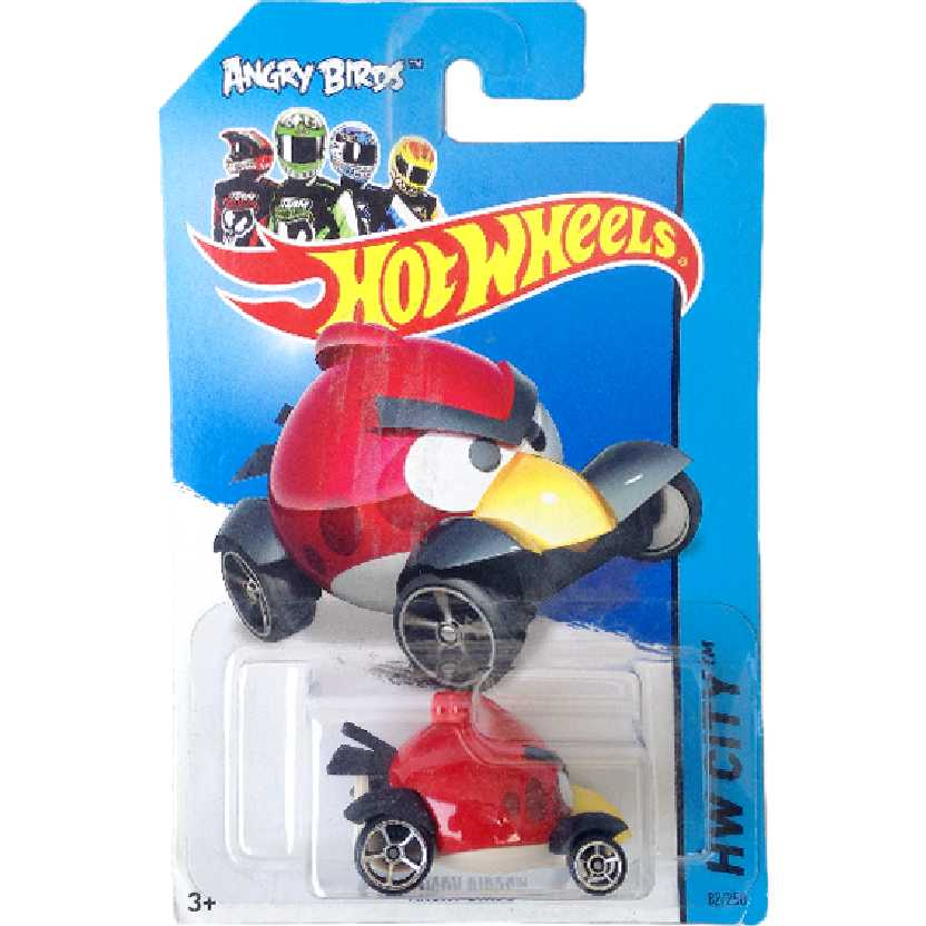 Carrinho Hot Wheels 2014 Angry Birds series 82/250 BFC91 escala 1/64
