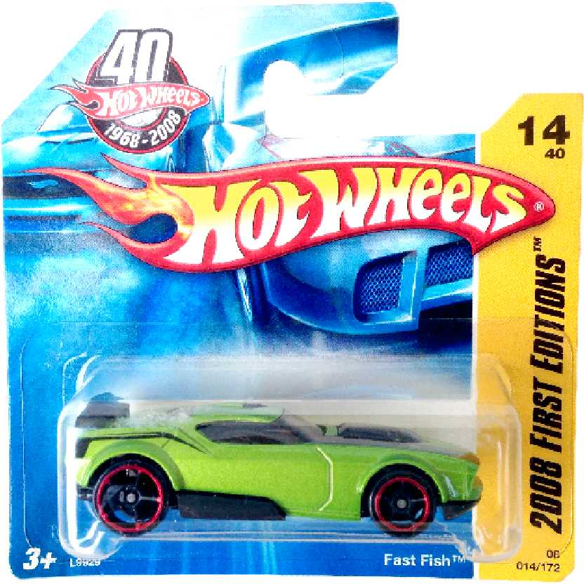 Carrinho Hot Wheels ano 2008 Fast Fish series 14/40 014/172 L9929 escala 1/64