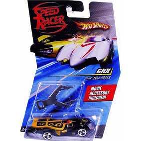 Carrinho Hot Wheels escala 1/64 GRX M4529/M5921 ( Miniatura do filme Speed Racer )